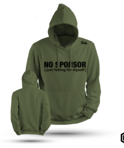Hoodie Karpervissen No Sponsor