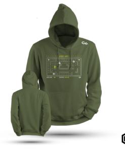 Basic hoodie CarpMan karperkleding