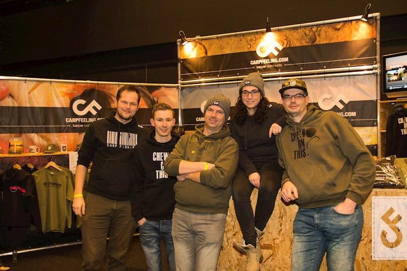 CarpFeeling Crew op Carp Zwolle